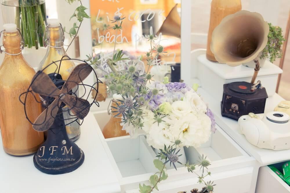 夏都海灘酒店-婚禮佈置作品-5