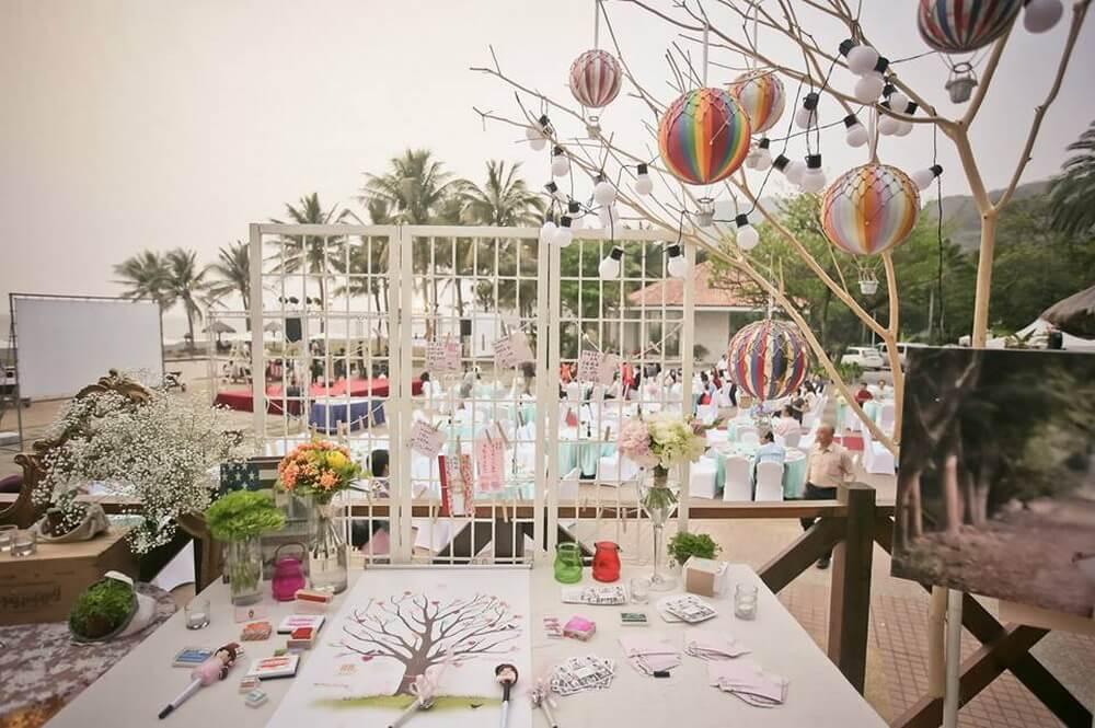 西子灣沙灘會館-婚禮佈置作品-2