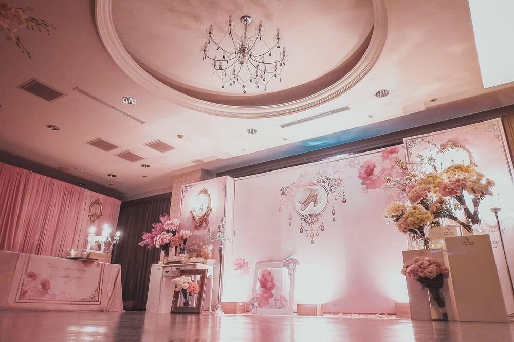 台南富霖餐廳永華館-婚禮佈置作品-1