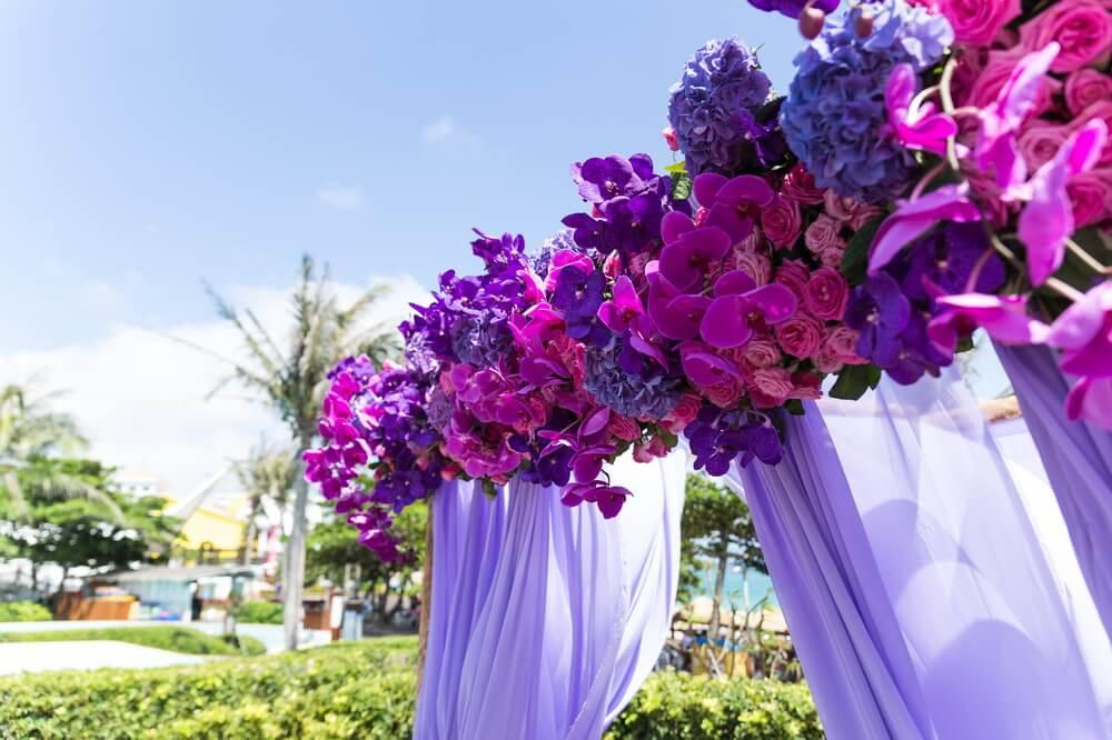 夏都海灘酒店-婚禮佈置作品-1
