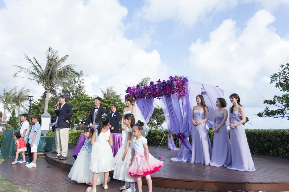 夏都海灘酒店-婚禮佈置作品-4