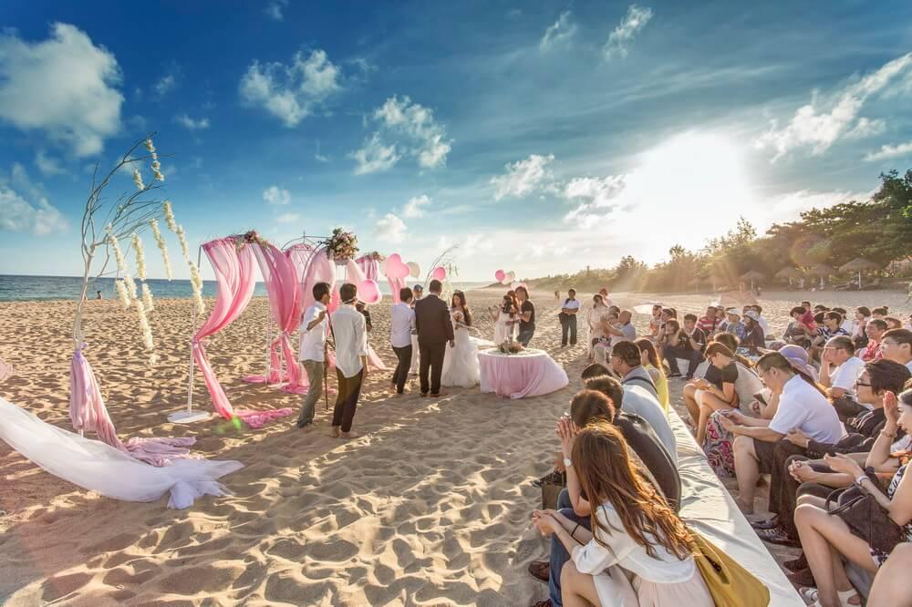夏都海灘酒店-婚禮佈置作品-3